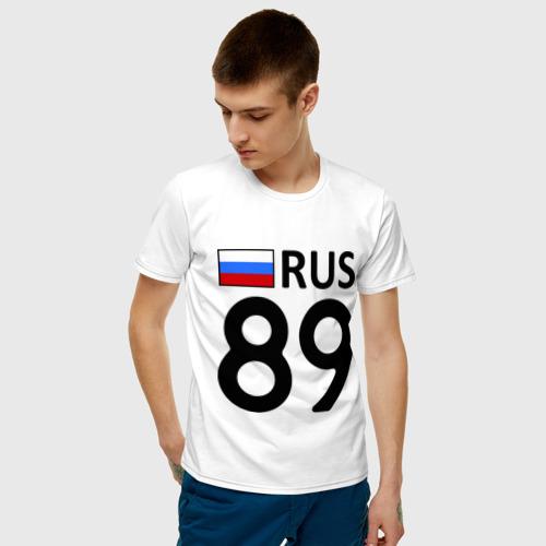 Мужская футболка хлопок Ямало-Ненецкий АО (89) Фото 01