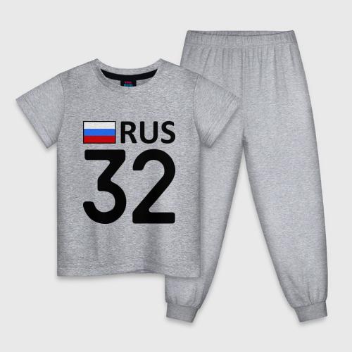 Детская пижама хлопок Брянская область (32) Фото 01