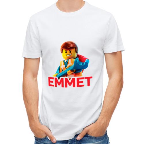Мужская футболка полусинтетическая  Фото 01, Emmet