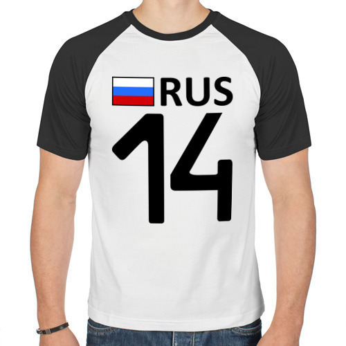 Мужская футболка реглан  Фото 01, Республика Саха (Якутия) (14)