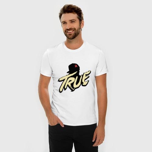 Мужская футболка премиум  Фото 03, Тру True Правда
