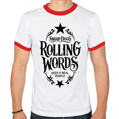 Мужская футболка рингер  Фото 01, Snoop Dogg Снуп Дог Rap