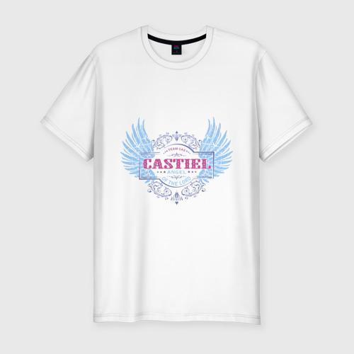 Мужская футболка премиум  Фото 01, Кастиэль - сериал Сверхъестественное