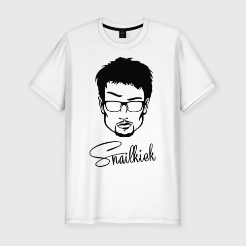 Мужская футболка премиум Snailkick