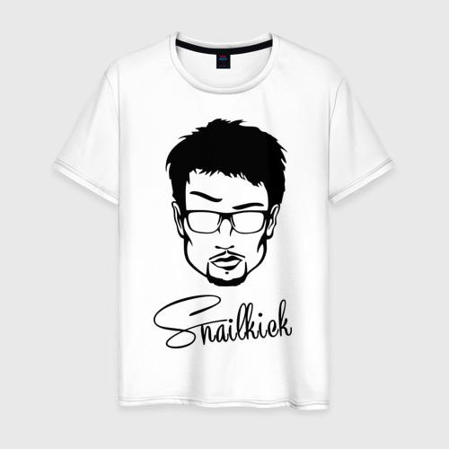 Мужская футболка хлопок Snailkick