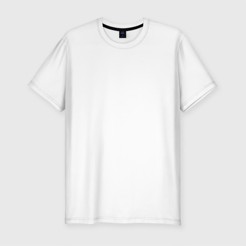 Мужская футболка премиум  Фото 01, Этот дебил со мной