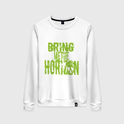 Женский свитшот хлопок Bring me the horizon logo Фото 01