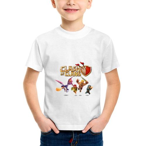 Детская футболка синтетическая Clash of clans от Всемайки