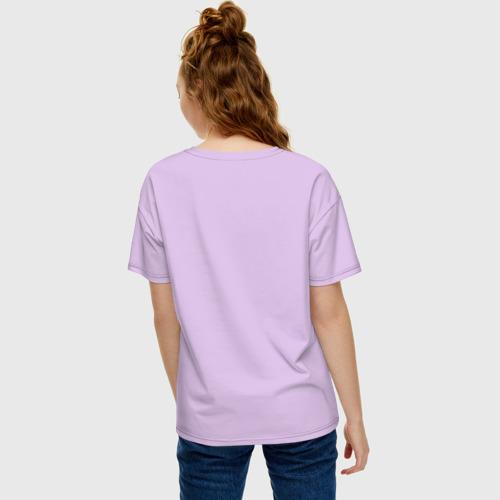 Женская футболка хлопок Oversize 420 Фото 01