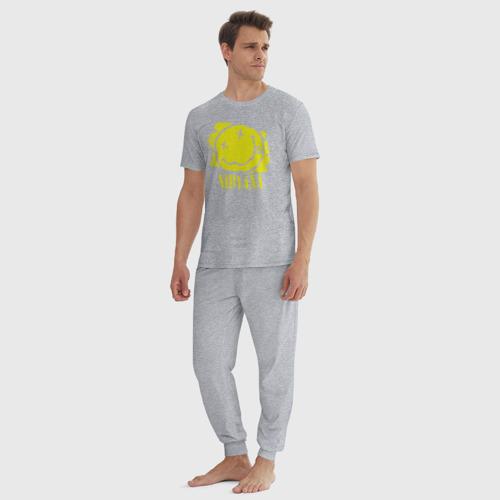Мужская пижама хлопок смайл NIRVANA Фото 01