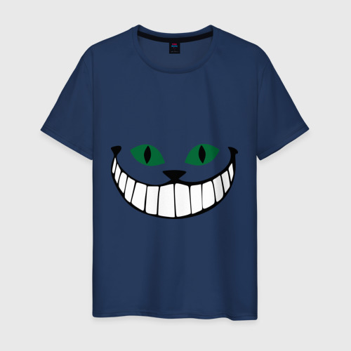 Мужская футболка хлопок Чеширский кот Фото 01