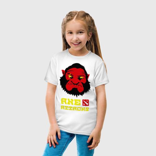 Детская футболка хлопок Axe attacks Dota2 Дота 2 Акс Фото 01