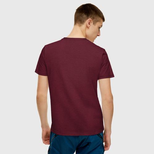 Мужская футболка хлопок Будьте нормальными Фото 01