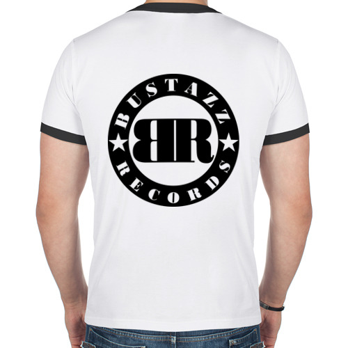 Мужская футболка рингер  Фото 02, Роза ветров