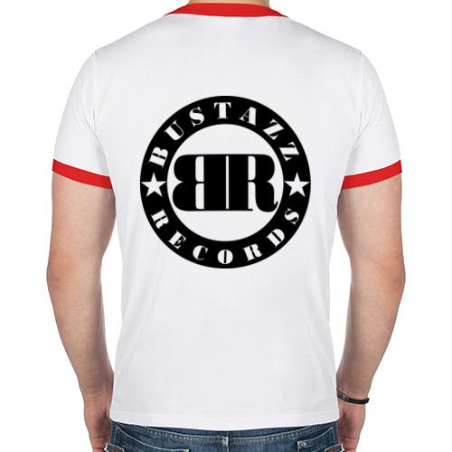 Мужская футболка рингер  Фото 02, 9 gramm - роза ветров