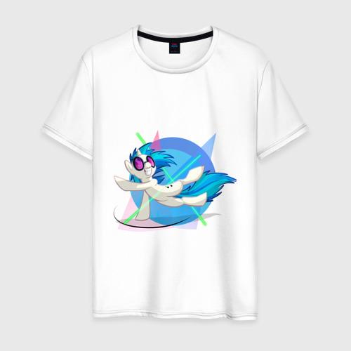 Мужская футболка хлопок Пони танцует