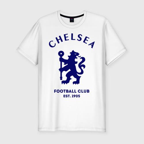 0ae8529870cd Челси Футбольный клуб Chelsea (мужская футболка премиум) - купить ...