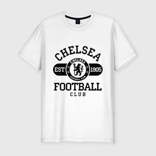 Мужская футболка премиум  Фото 01, Chelsea футбольный клуб
