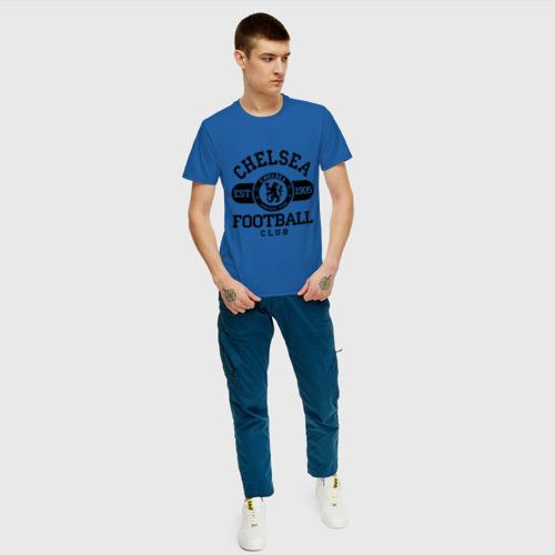 Мужская футболка хлопок Chelsea футбольный клуб Фото 01