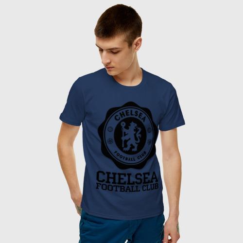 Мужская футболка хлопок Chelsea FC Фото 01