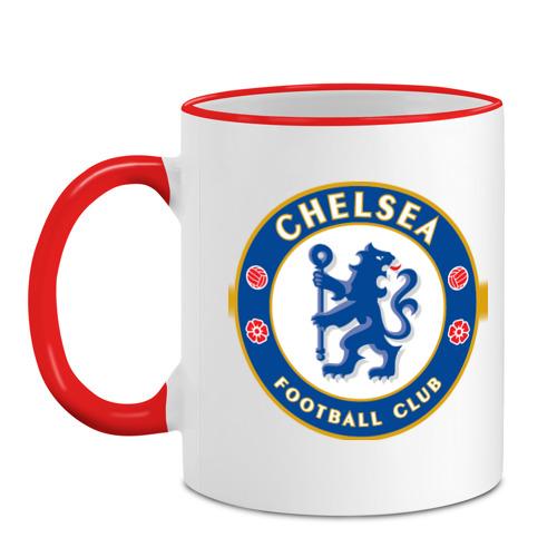 Кружка с кантом Chelsea logo