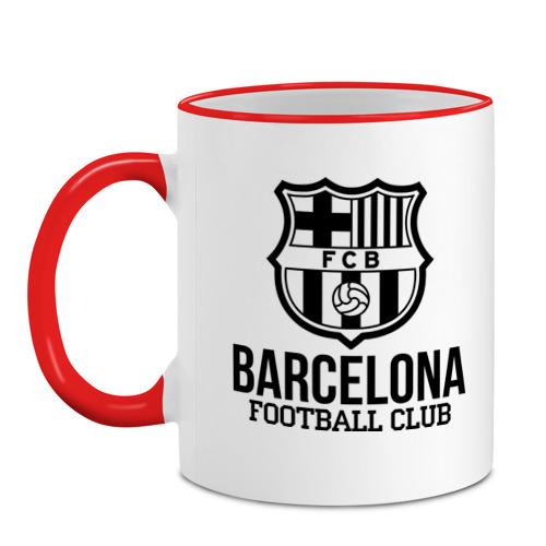 Кружка с кантом Barcelona FC