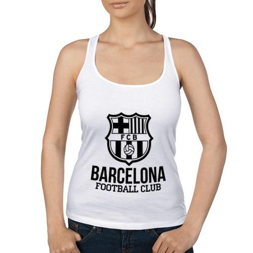 Женская майка борцовка Barcelona FC