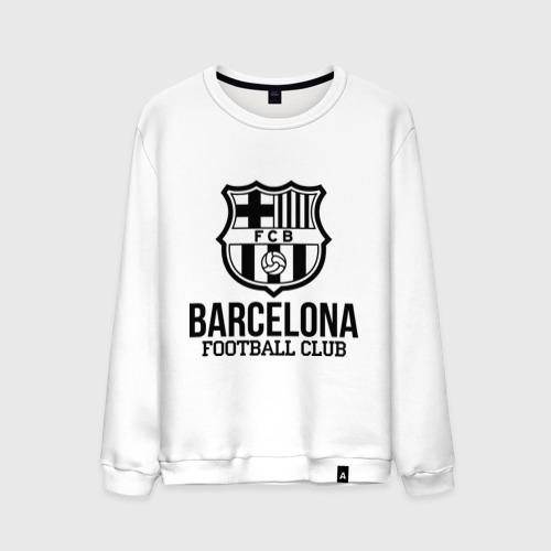Мужской свитшот хлопок Barcelona FC