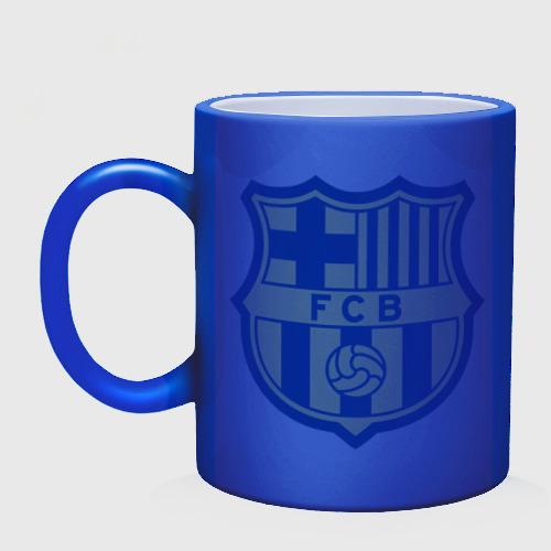 Кружка хамелеон  Фото 02, Barcelona logo