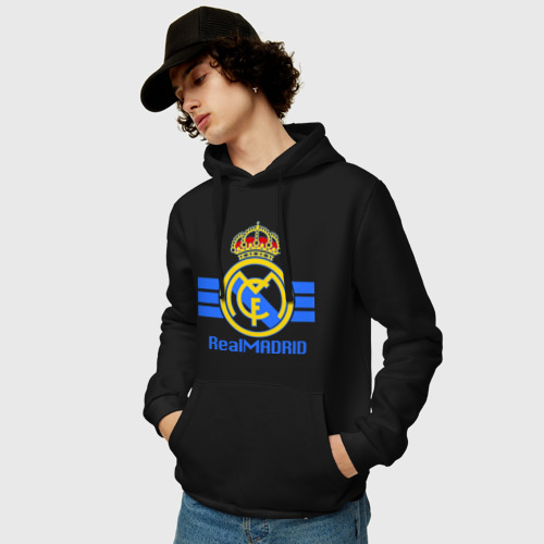 Мужская толстовка хлопок  Фото 03, Real Madrid