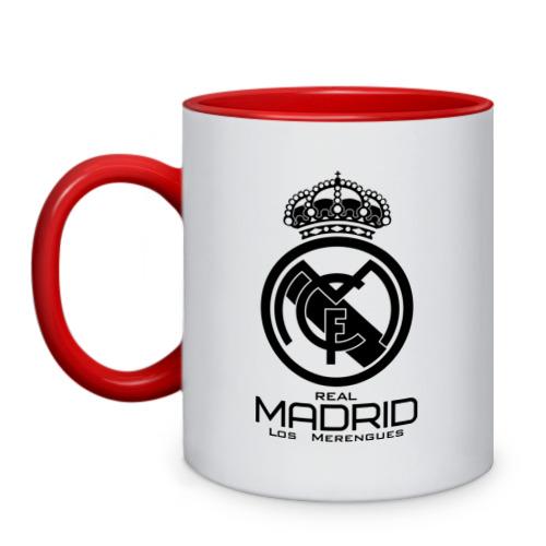 Кружка двухцветная Real Madrid от Всемайки