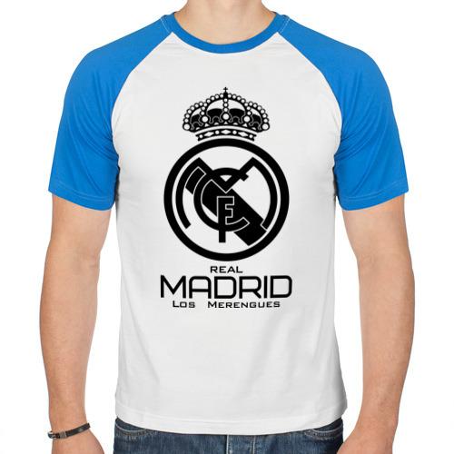 Мужская футболка реглан Real Madrid от Всемайки