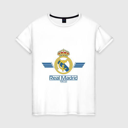 Женская футболка хлопок Real Madrid 1902