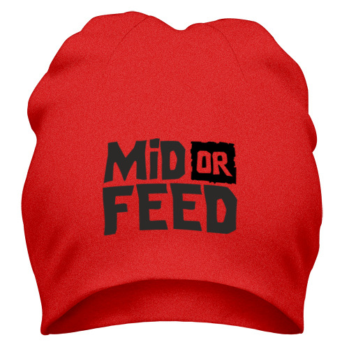 Шапка Mid or feed