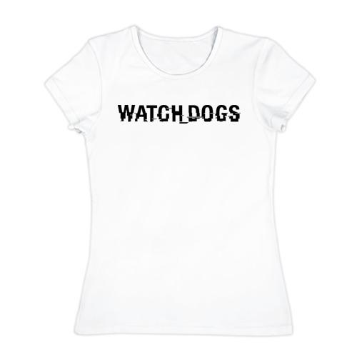 Женская футболка хлопок  Фото 01, Watch Dogs