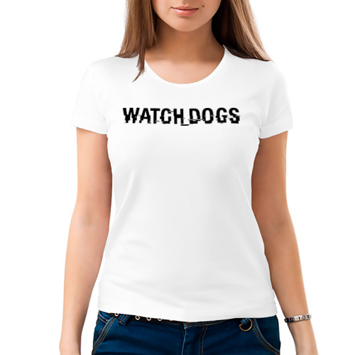 Женская футболка хлопок  Фото 03, Watch Dogs
