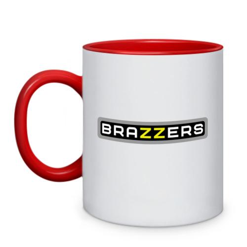 Кружка двухцветная Brazzers от Всемайки