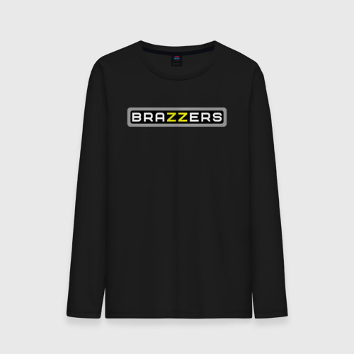 Мужская футболка с длинным рукавом Brazzers от Всемайки