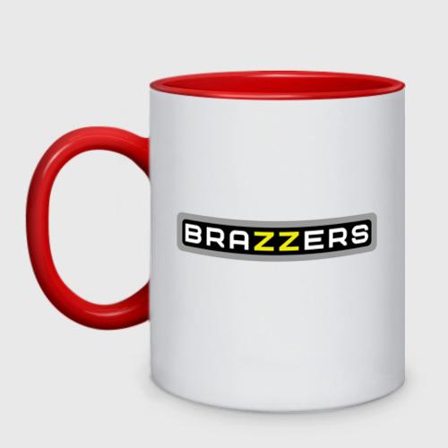Кружка двухцветная Brazzers