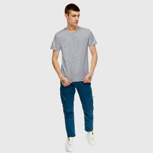 Мужская футболка хлопок Дороги созданы для эндуро Фото 01