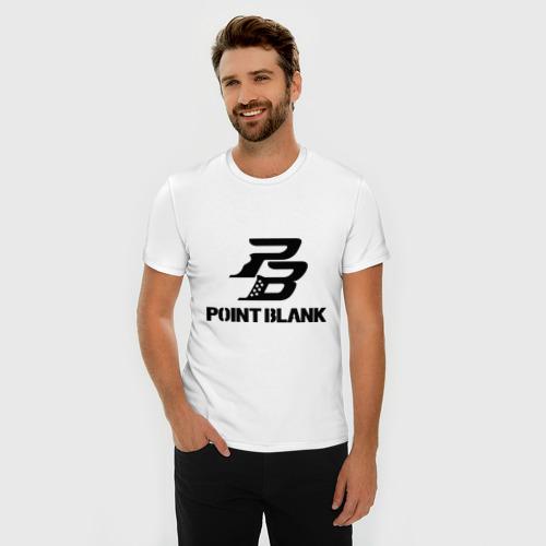 Мужская футболка премиум  Фото 03, Point Blank