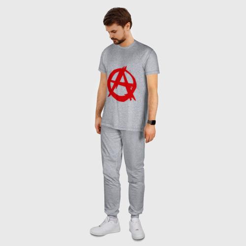 Мужская пижама хлопок Анархист Фото 01
