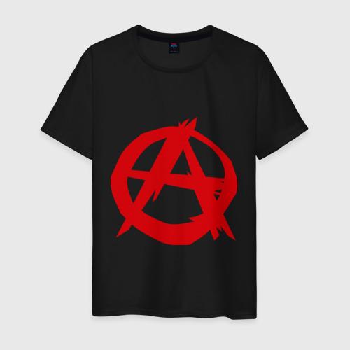 Мужская футболка хлопок Анархист Фото 01