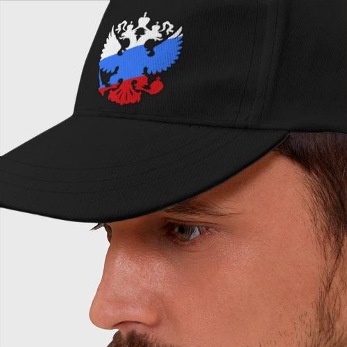 Бейсболка Герб России Фото 01