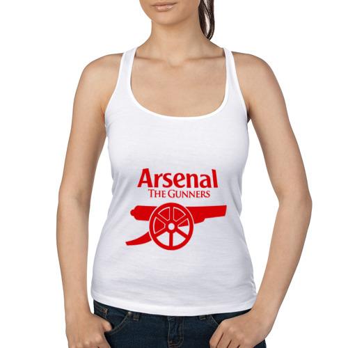 Женская майка борцовка Arsenal