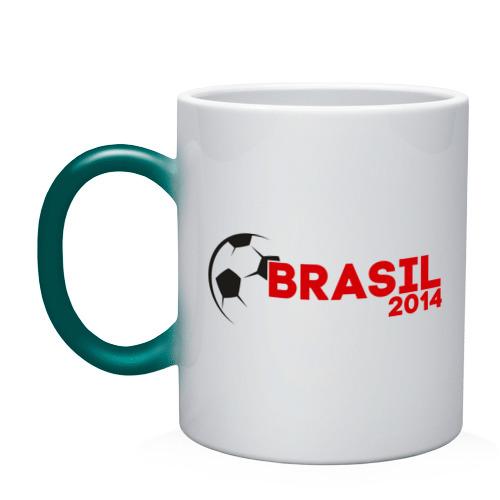 Кружка хамелеон  Фото 01, BRASIL 2014