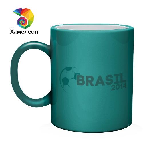 Кружка хамелеон  Фото 02, BRASIL 2014