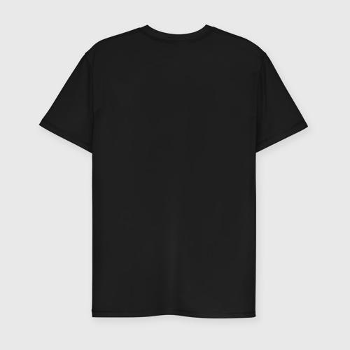 Мужская футболка премиум  Фото 02, Вежливые люди эмблема (светящаяся)