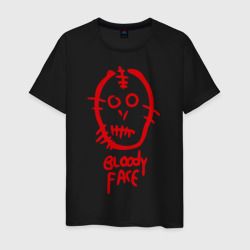 Bloody face