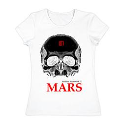 30 second to mars (skull) - интернет магазин Futbolkaa.ru